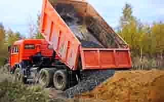 Доставка песка, щебня в Егорьевске и районе